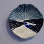 """road trip 2"" (<a href='/inquire.php?gallery=ceramic&file=DSC07577.JPG&caption=road trip 2'>Inquire about this piece</a>)<br />info: hand built ceramic wall platter  14x14<br />price: $175"